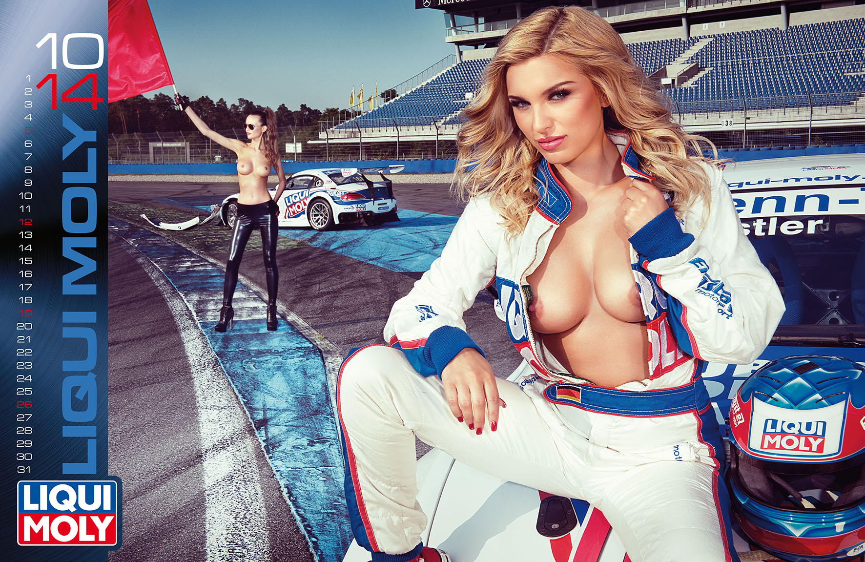 (C) Lorbe Automotive - Calendario LIQUI MOLY 2014