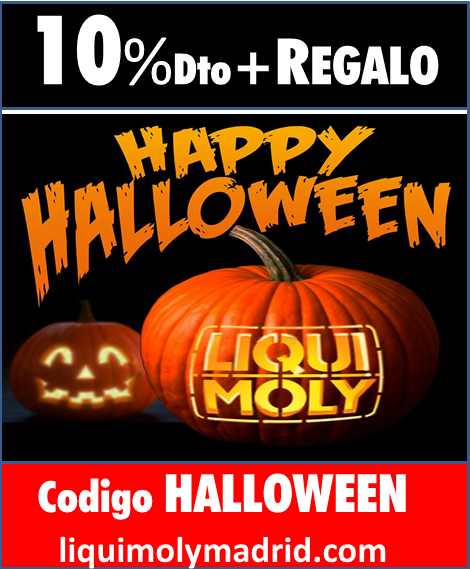 Happy Halloweeen en LIQUI MOLY MADRID STORE