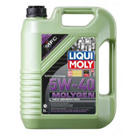 ACEITE MOLYGEN 5W40 New Generation